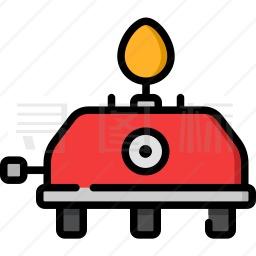 燃气灶图标