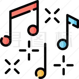 音符图标 979个音符图标icon图标批量下载 Png Eps Psd Ico Svg格式 寻图标