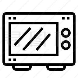 微波炉图标