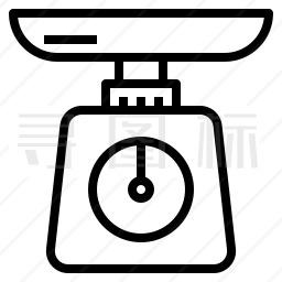 电子桌秤图标