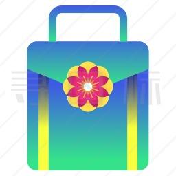 樱花手提箱图标