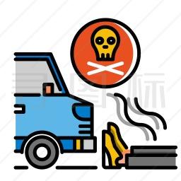 汽车保险图标