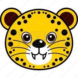 猎豹头像图标