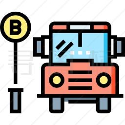 公共汽车图标