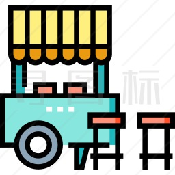 街头食品图标