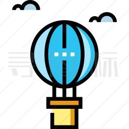 热气球图标