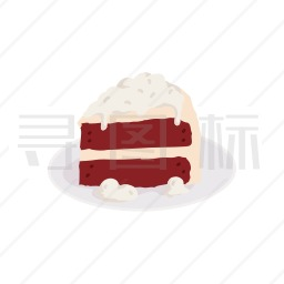 切块蛋糕图标