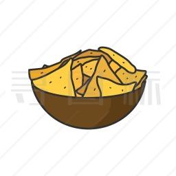 玉米脆饼图标