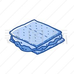奶油饼干图标