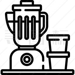 搅拌机图标