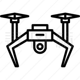 无人机图标