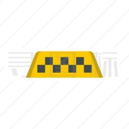 出租车标志图标