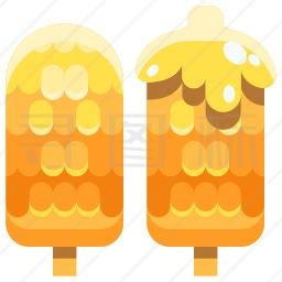 烤玉米图标
