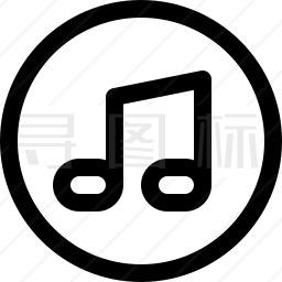 音乐标志图标