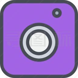 相机标志图标