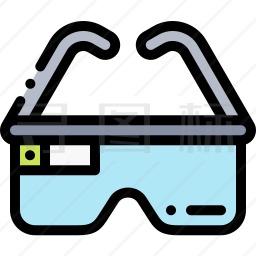 Ar眼镜图标 有svg Png Eps格式 寻图标