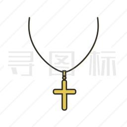 十字架项链图标