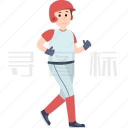 跑步的男孩图标