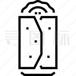 菜肉卷饼图标