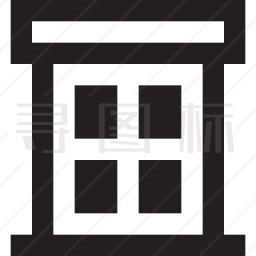 城镇建筑图标