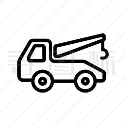 汽车起重机图标