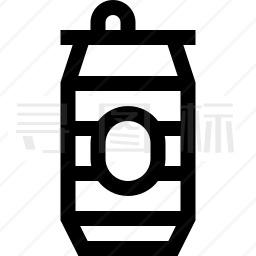 啤酒罐图标