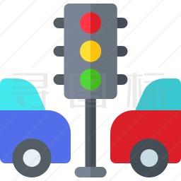 交通堵塞图标