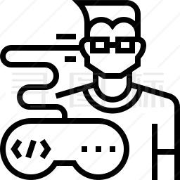 游戏开发者图标