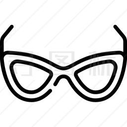 眼镜图标 有svg Png Eps格式 寻图标