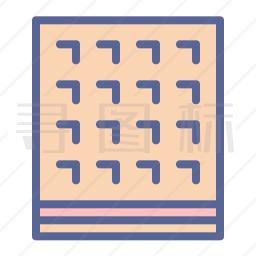 华夫饼图标