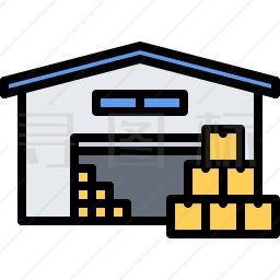 网站qq客服代码生成_仓库图标-有SVG,PNG,EPS格式-寻图标