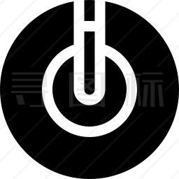 发光二极管图标