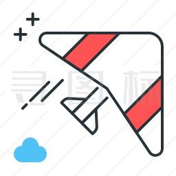 滑翔机图标