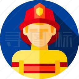 消防队员图标