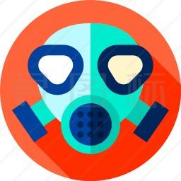 防毒面具图标