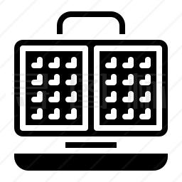 电饼铛图标