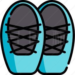 芭蕾舞鞋图标