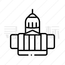 国会大楼图标