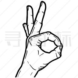 手势图标38个icon批量下载 有svg Png Eps 矢量图格式 寻图标