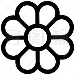 鲜花盛开图标