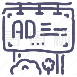 广告牌图标