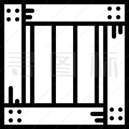 板条箱图标