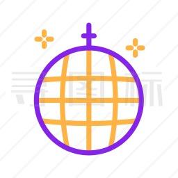 迪斯科球图标