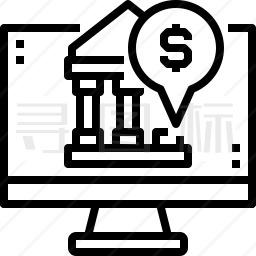 网上银行图标