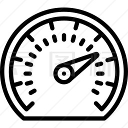 车速表图标