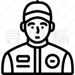 赛车手图标