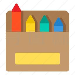 彩色铅笔图标