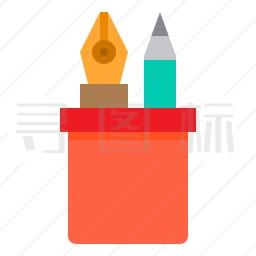 铅笔盒图标
