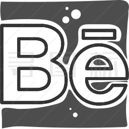 Behance图标