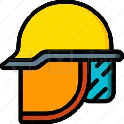 消防头盔图标